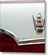 1959 Dodge Custom Royal Super D 500 Emblem Metal Print