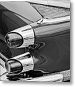 1959 Dodge Custom Royal Super D 500 Taillight -0233bw Metal Print