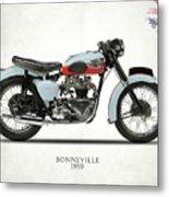 1959 T120 Bonneville Metal Print