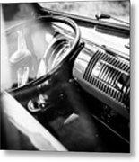 1959 Volkswagen T1 Interior Metal Print