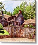 #196 Bourn Cottage Metal Print