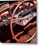 1960 Chevrolet Impala Convertible Metal Print