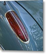 1960 Chevrolet Corvette Tail Light Metal Print