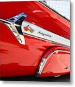 1960 Chevy Impala Low Rider Metal Print