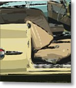 1960 Chrysler 300-f  Muscle Car Metal Print
