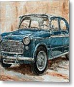 1960 Fiat 1100 103 H Metal Print