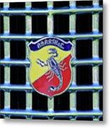 1960 Fiat Lusso Emblem Metal Print by Jill Reger