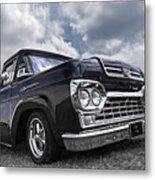 1960 Ford F100 Truck Metal Print