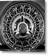 1960 Ford Thunderbird Spare Tire 2 Metal Print
