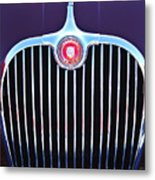 1960 Jaguar Xk150 Roadster 2 Metal Print