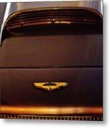 1961 Aston Martin Db4 Coupe Emblem Metal Print