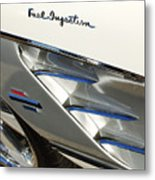 1961 Chevrolet Corvette Abstract Metal Print