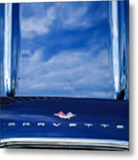 1961 Chevrolet Corvette Grille Metal Print