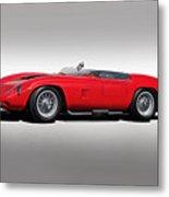 1961 Ferrari Tr61 Corsa Rosso Metal Print