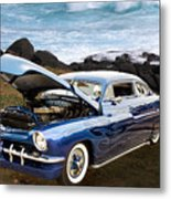 1951 Mercury Classic Car Photograph 005.02 Metal Print
