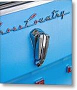 1961 Rambler Cross Country Emblem Metal Print