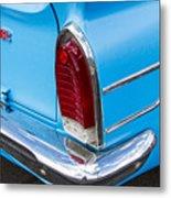 1961 Rambler Cross Country Tail Light Metal Print
