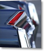 1962 Cadillac Deville Taillights Metal Print