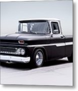 1962 Chevrolet Shortbed Pickup I Metal Print