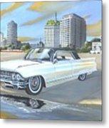 1962 Classic Cadillac Metal Print