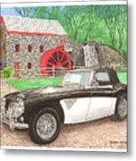 1963 Austin And Sudbury Mill Metal Print