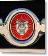 1963 Jaguar Xke Roadster Emblem Metal Print