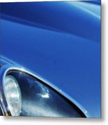 1963 Jaguar Xke Roadster Headlight Metal Print