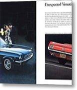 1964 Ford Mustang-08-09 Metal Print