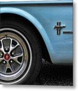 1964 Ford Mustang Metal Print