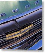 1964 Oldsmobile Jetstar Hood Ornament Metal Print