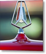 1964 Plymouth Hood Ornament Metal Print