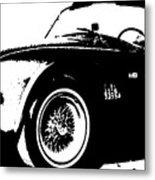 1964 Shelby Cobra Sketch Metal Print