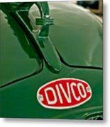 1965 Divco Milk Truck Hood Ornament Metal Print