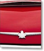 1965 Ford Thunderbird Emblem Metal Print