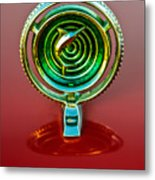 1965 Marlin Rambler Hood Ornament Metal Print