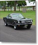 1965 Mustang Fastback Kearney Metal Print