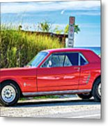 1965 Mustang 1965 Metal Print