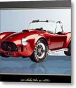1965 Red Shelby Cobra 427SC  Metal Print