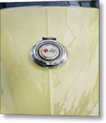 1965 Yellow Sting Ray Gas Cap Metal Print