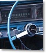 1966 Chevrolet Impala Dash Metal Print