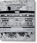 1966 Ford F100 Sketch Metal Print