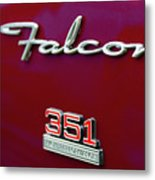 1966 Ford Falcon Metal Print