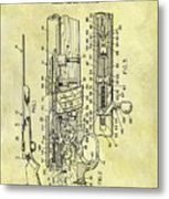 1966 Rifle Patent Metal Print
