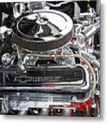1967 Chevrolet Chevelle Ss Engine Metal Print