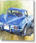 1967 Chevrolet Corvette C2 Stingray  Metal Print