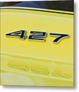 1967 Chevrolet Corvette Sport Coupe Emblem Metal Print