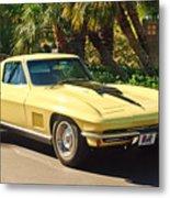 1967 Chevrolet Corvette Sport Coupe Metal Print