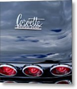 1967 Chevrolet Corvette Taillight 3 Metal Print