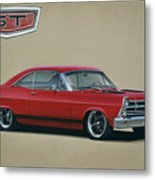 1967 Ford Fairlane Gt Metal Print