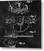 1967 Lawn Mower Patent Illustration Metal Print